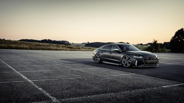 Full HD Black Box Richter Audi Rs 7 Sportback 2020 Wallpaper