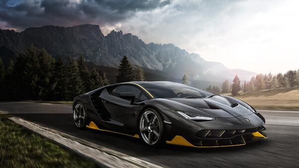Lamborghini Aventador Green 4k Hd Cars 4k Wallpapers: Black Lamborghini Aventador 4k 2018, HD Cars, 4k