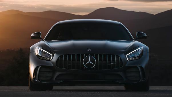 Full HD Black Mercedes Benz Amg Gt 4k 2020 Wallpaper