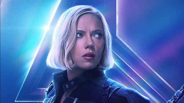 Black Widow In Avengers Infinity War New Poster Hd Movies