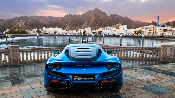 Full HD 2020 Ferrari F8 Tributo 5k Wallpaper