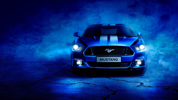 Ford Mustang, HD Cars, 4k Wallpapers