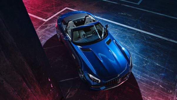 Full HD Mercedes Amg Gt S Roadster 2018 Wallpaper