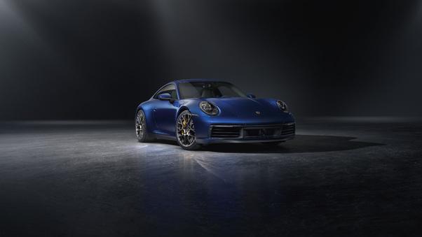 Full HD Porsche 911 Turbos Cgi Wallpaper