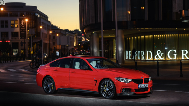 Full HD 2018 Bmw 430i Gran Coupe M Performance Parts Wallpaper