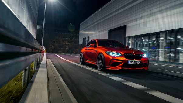 Full HD Bmw M2 M Performance Parts Concept 2018 Side View Wallpaper