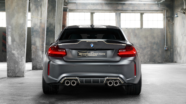 Full HD Bmw M2 Front Grill View Wallpaper