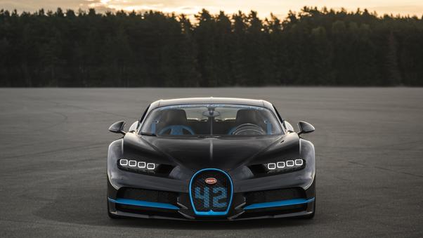 Full HD Blue Bugatti Chiron Sport 2020 4k Wallpaper