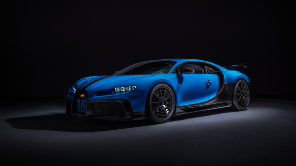 Full HD 2020 Bugatti Chiron Pur Sport Wallpaper