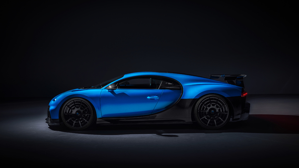 Full HD Bugatti Chiron Pur Sport 2020 Front Wallpaper