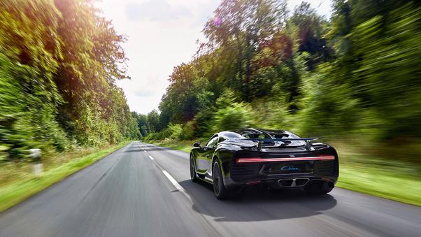 Full HD Bugatti Chiron Usa Version Wallpaper