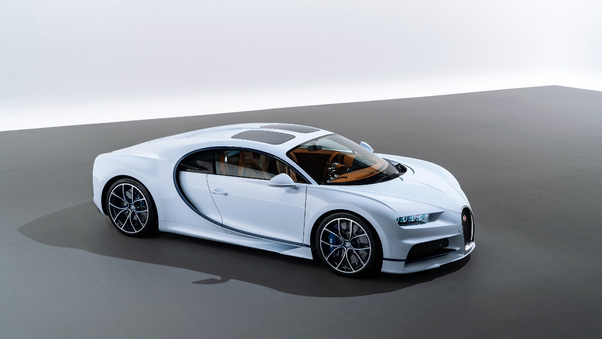Full HD 2018 Bugatti Chiron Sky View Wallpaper