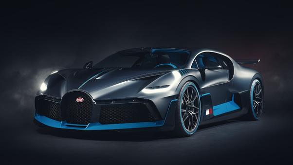 Full HD Bugatti Divo Bridge 4k Wallpaper