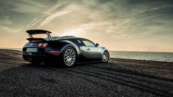 Full HD Deadpool Inspired Bugatti Wallpaper