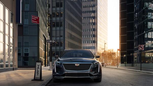 Full HD Cadillac Ct6 V Sport 2019 Rear Wallpaper