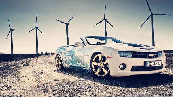 Full HD Chevrolet Corvette Grand Sport Side View Wallpaper