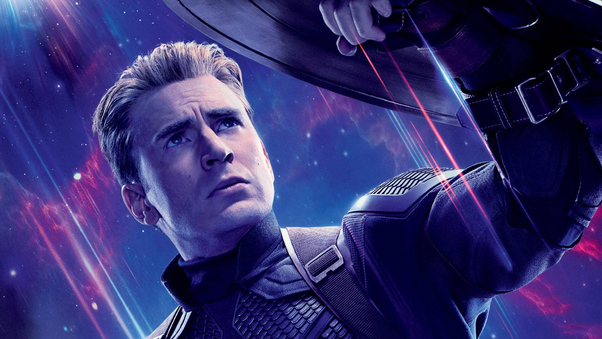 Captain America In Avengers Endgame Hd Movies 4k Wallpapers