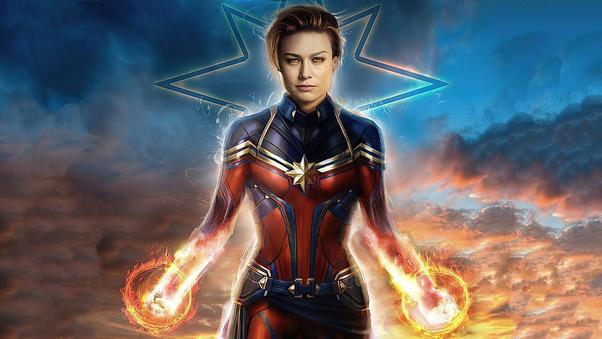 Captain Marvel 2020 4k Brie Larson, HD Superheroes, 4k ...
