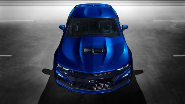 Full HD Chevrolet Camaro Ss 2018 Wallpaper