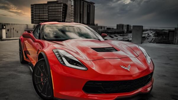 Full HD Chevrolet Corvette Grand Sport 2020 Wallpaper