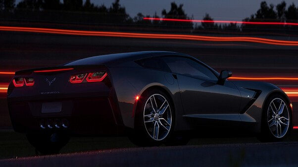 Full HD Corvette C7 4k Wallpaper