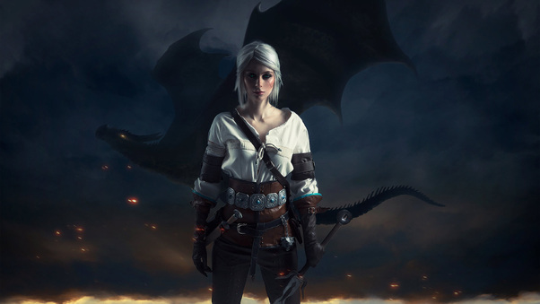 Ciri The Witcher 3 Wild Hunt Hd Games 4k Wallpapers