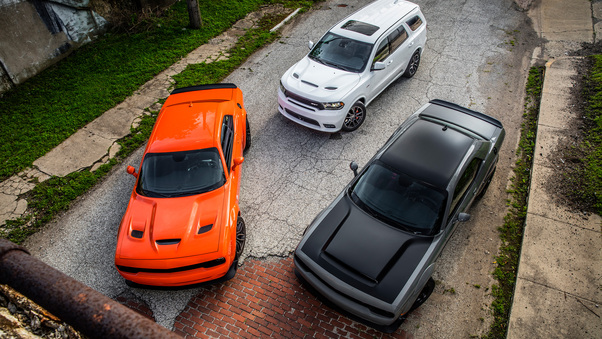 Full HD Dodge Charger Srt Hellcat 2018 4k Wallpaper