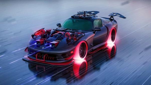 Full HD Dodge Viper Rear Wallpaper