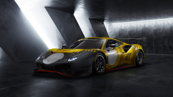 Full HD Ferrari 488 Gt Modificata 2021 10k Wallpaper
