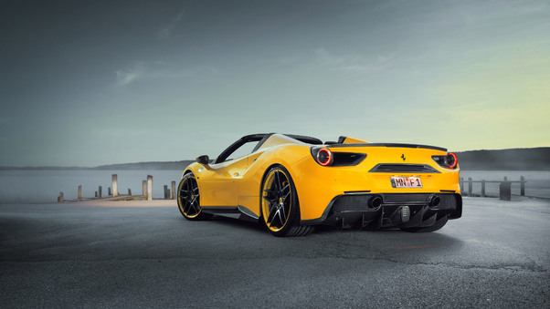 Ferrari 488 Yellow, HD Cars, 4k Wallpapers, Images