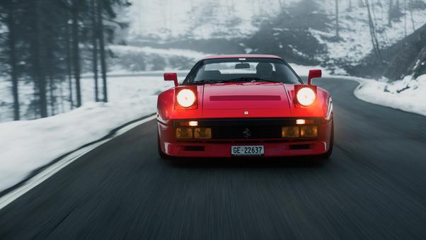 Full HD Ferrari F12tdf 8k Wallpaper