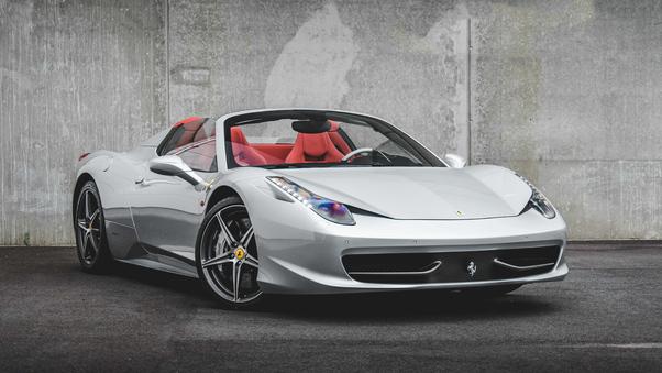 Full HD Ferrari 458 Italia Speciale A Wallpaper