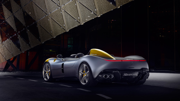 Full HD 8k Novitec Ferrari Monza Sp1 2020 Wallpaper