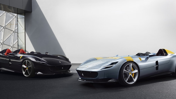 Full HD Ferrari Monza Sp1 And Sp2 8k Wallpaper