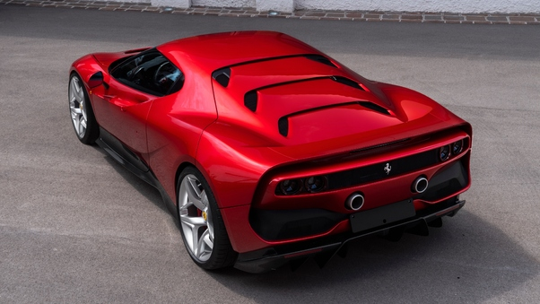 Full HD Ferrari Sp 38 Wallpaper