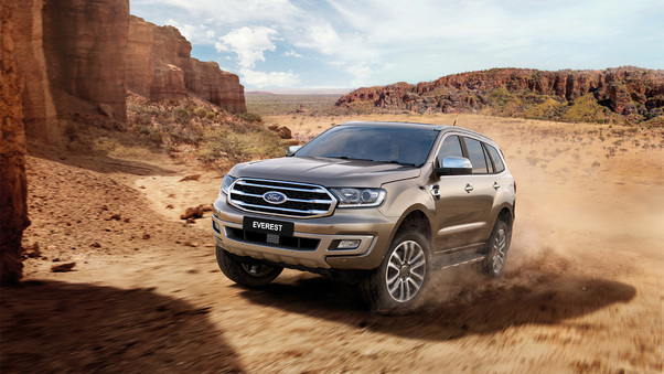 Full HD Ford Everest Titanium 2018 Suv Wallpaper