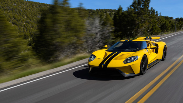 Full HD 2018 Ford Gt Heritage Edition 4k Wallpaper