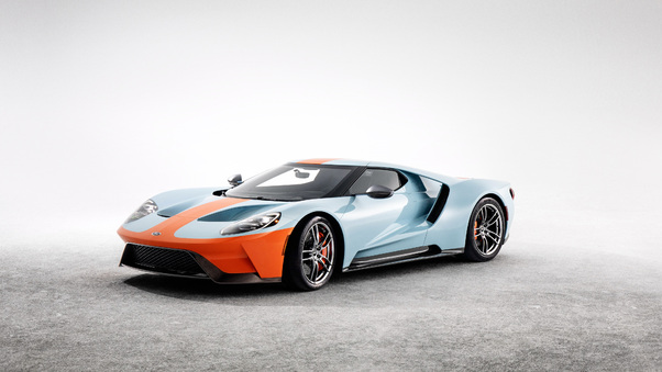 Full HD Ford Gt Heritage Edition 2018 4k Wallpaper