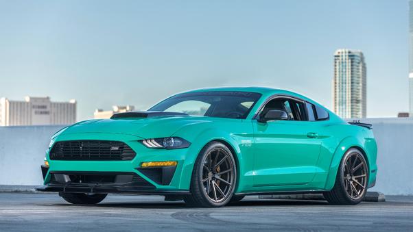 Full HD Green Ford Mustang Shelby Gt500 Wallpaper