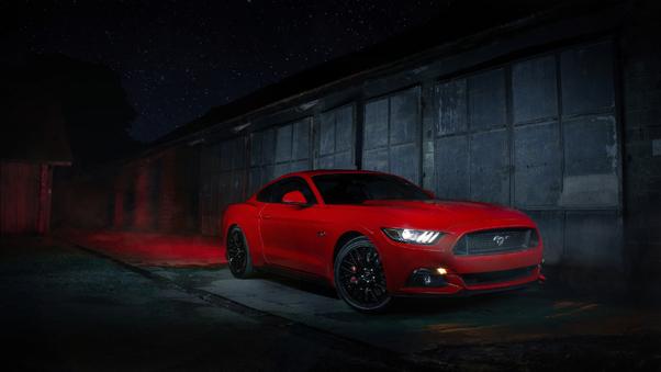 Full HD Ford Mustang Boss 429 Fastback Muscle Car Wallpaper