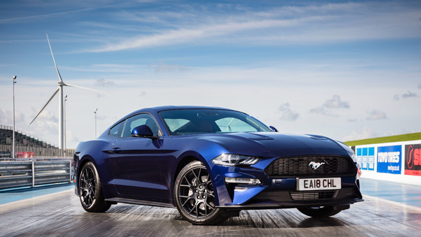 Full HD Ford Mustang Ecoboost Fastback 2018 Wallpaper