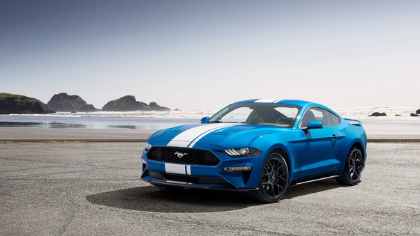 Full HD Ford Mustang Ecoboost Performance Pack 1 2018 Wallpaper
