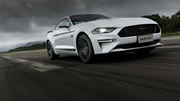 Full HD Ford Mustang Gt 2018 New Wallpaper