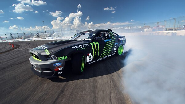 Ford Mustang Monster Car Drift Hd Cars 4k Wallpapers Images