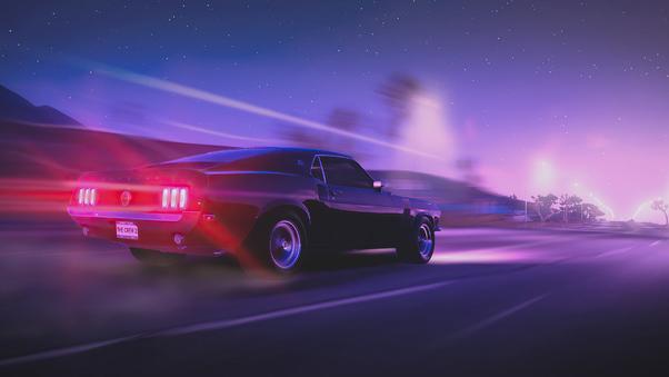 Full HD Ford Mustang Gt Fastback Wallpaper