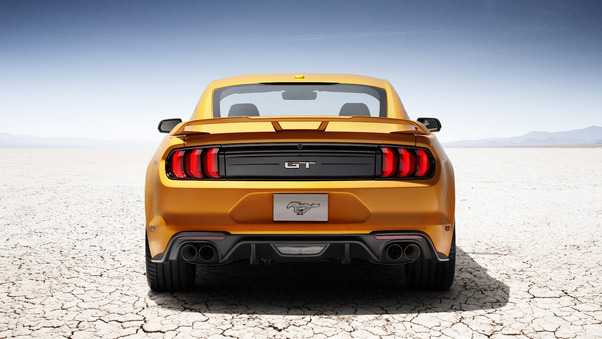Full HD 2020 Ford Mustang Upper View Wallpaper