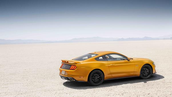 Full HD Ford Mustang Pontiac Firebird Wallpaper