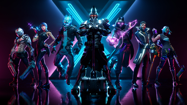 Fortnite Season X Hd Games 4k Wallpapers Images Backgrounds