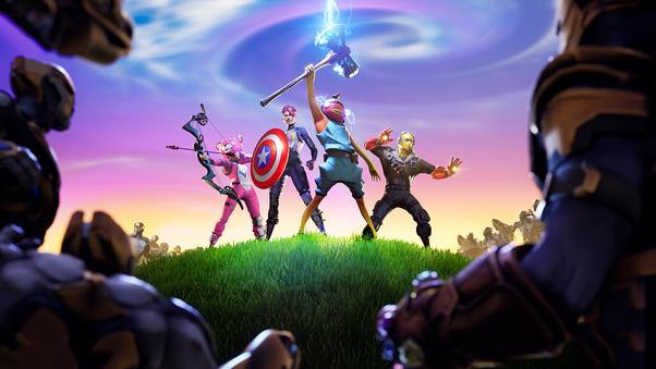 Fortnite X Avengers Hd Games 4k Wallpapers Images Backgrounds Photos And Pictures