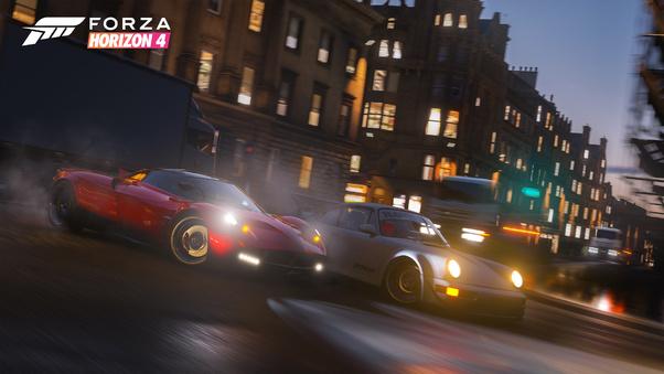 Full HD Forza Horizon 4 Racing Wallpaper